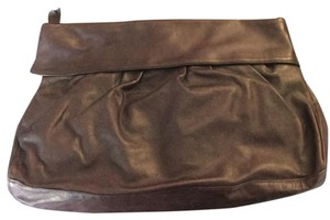 Susan Gail Black Leather Vintage Burgundy Clutch
