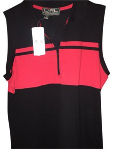 Ralph Lauren Top Black with red.