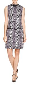 MICHAEL Michael Kors Embellished Snake Print Dress