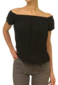 Cloth & Stone Off Bohemian Night Out Date Night Top Black