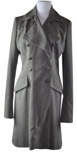 Richard Tyler Double Breast Wool Coat/Jacket Size 14 Military Jacket