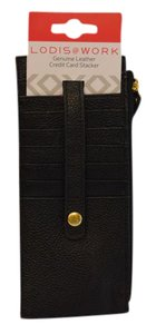 Lodis Lodis AUDREY Credit Card Case with Zippered Wallet Compartment