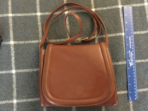 Susan Gail Vintage Leather Cross Body Bag