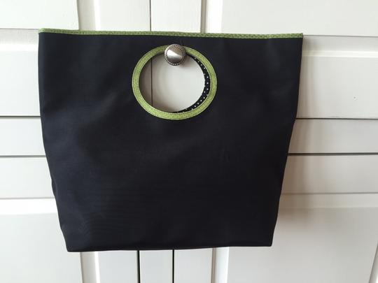 Kate Spade Tote in Black and Green
