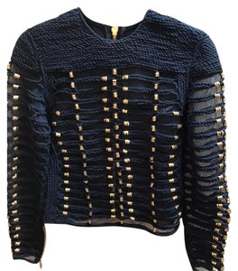 Balmain x H&M Blue Jacket