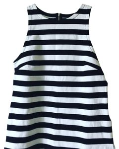 Banana Republic Top striped black and white