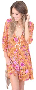 Free People short dress Amber, Pink Mini Spell Spell & The Gypsy on Tradesy