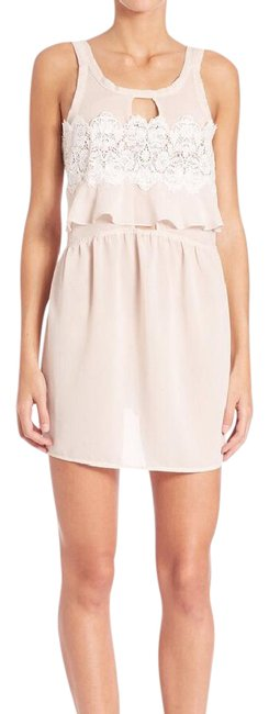 Item - Pink Sienna Sleeveless Keyhole Above Knee Night Out Dress Size 8 (M)