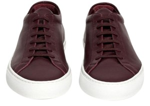 Common Projects Never Worn New In Box Oxblood/Burgundy Athletic