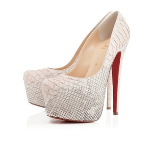 Christian Louboutin Daffodile 160 Python Degrade Wedding Shoes