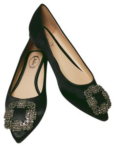 Italina by Summer Rio Black Flats