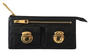 Marc Jacobs Quilted Zip Clutch Wallet