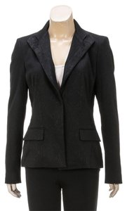 Elie Tahari Black Womens Jean Jacket