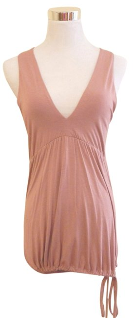 W118 by Walter Baker Cut-out Sleeveless V-neck Top Pink