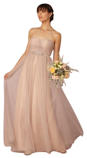 Item - Beige Tulle Annabelle - Sandstone Formal Bridesmaid/Mob Dress Size 6 (S)