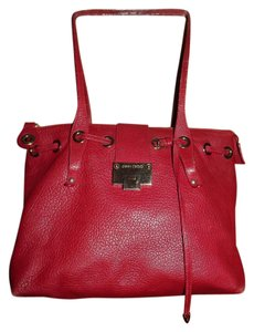 Jimmy Choo Tote in red