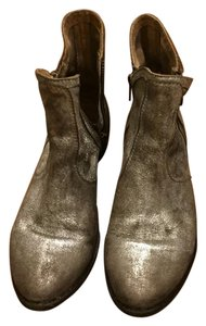 silver ankle boots Boots