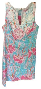 Lilly Pulitzer short dress Multi-colored with jellyfish on Tradesy