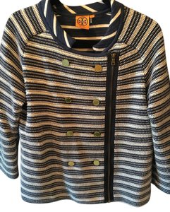 Tory Burch Tory Double Breasted Button Classic navy/white Jacket