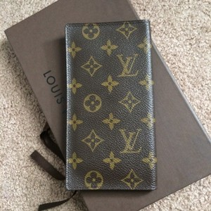 Louis Vuitton vintage organizer long bifold wallet