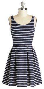 Modcloth short dress Navy & White on Tradesy