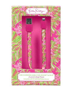 Lilly Pulitzer LILLY PULITZER iPhone 5/5S & 6/6 Plus Charging Cord