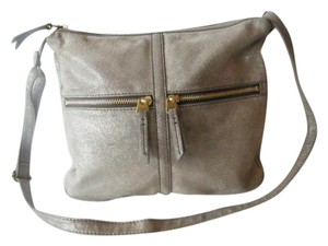 Fossil Gold Hardware Cross Body Bag