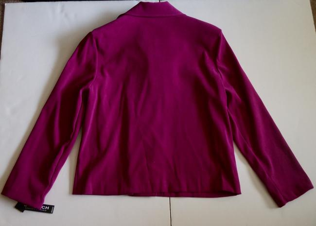 Briggs Jacket Suit Petite Small Pink, Fuchsia, Purple, Rasberry Blazer