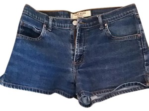 Paris Blues Denim Mini/Short Shorts Blue Jeans