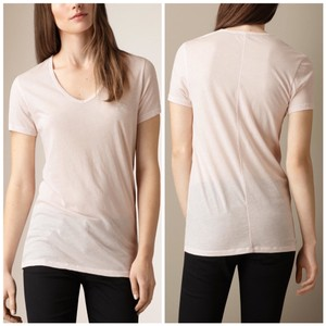 Burberry T Shirt Blush Pink
