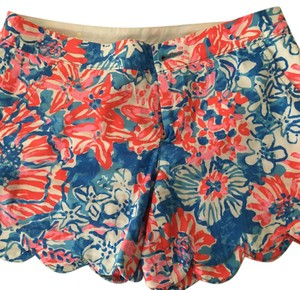 Lilly Pulitzer Mini/Short Shorts Bay Blue Pop Pop