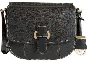 Michael Kors Messenger Pebble Leather Romy BLACK Messenger Bag