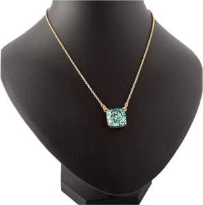 Kate Spade NEW Kate Spade New York Turquoise Aqua Glitter Necklace 18