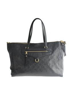 Louis Vuitton Lv Leather Tote in Blue