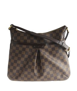 Louis Vuitton Coated Canvas Leather Lv Cross Body Bag