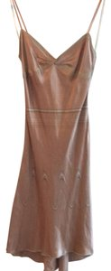 Max Studio short dress nude on Tradesy