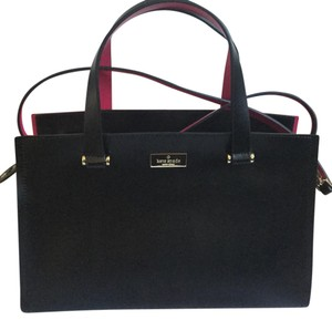 Kate Spade Satchel in Black / Swthrt Pink