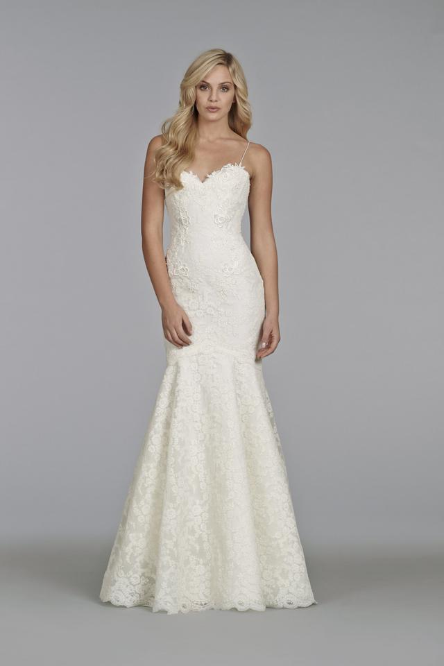 Tara Keely Ivory Alencon and Venise Lace 2411 Feminine Wedding Dress ...