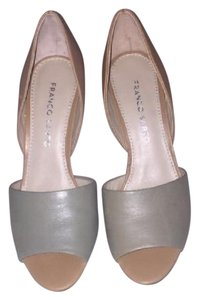 Franco Sarto tan/green Pumps