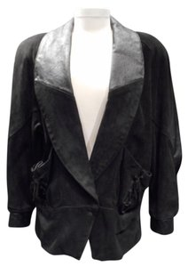 Sheepshead Bay Vintage Leather Suede 1980's Leather Jacket