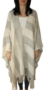 Ayni Cape Poncho Striped Sweater