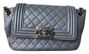 Chanel Lambskin Le Boy Shoulder Bag