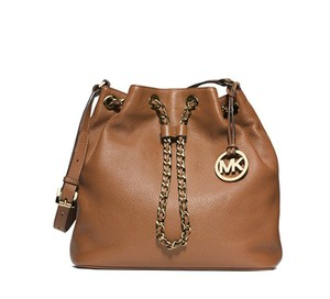 Michael Kors acorn brown Messenger Bag