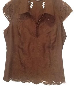 Etcetera Top Brown