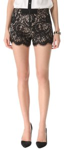 Alice + Olivia Beaded Floral Lace Shorts