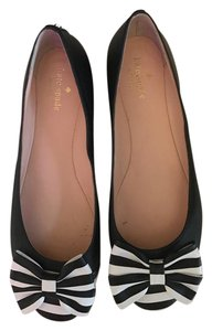Kate Spade Ballet Flat Black and White Flats