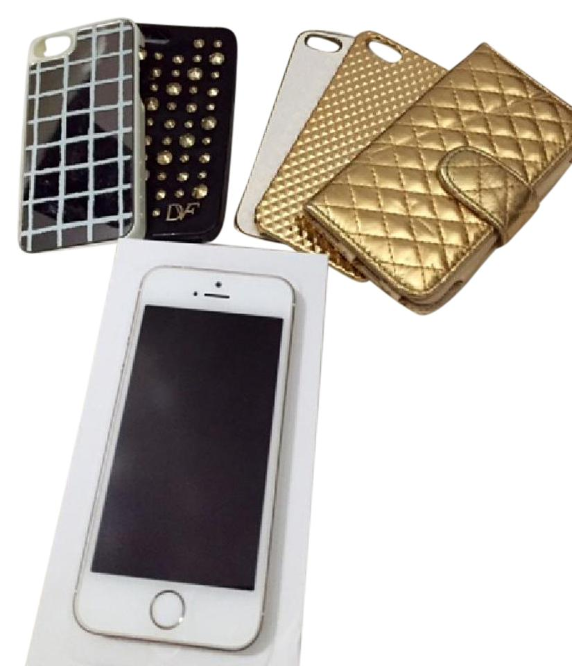 apple gold iphone 5s and phone cases tech accessory tradesy. Black Bedroom Furniture Sets. Home Design Ideas
