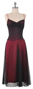 Betsey Johnson Vintage Netting Spaghetti Strap Cocktail Vintage Dress