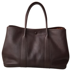 Hermès Tote in Dark Brown