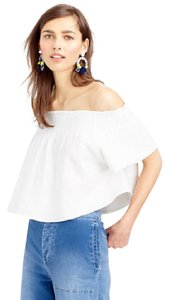 APIECE APART Off-the-shoulder Off The Shoulder Top White